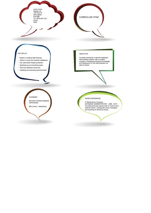 Creative Administrator Resume Template Printable pdf