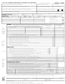 Form L-1040 - Individual Income Tax Return - City Of Lapeer - 2002