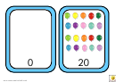 Balloon Number Chart - 0-20