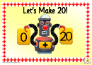 Roly Robot Number Chart 0-20