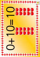 Simple Counting Number Chart - 0-10