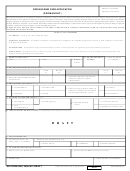 Dd Form 2249 Draft - Dod Building Pass Application