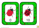 Ladybird Number Chart 0-10