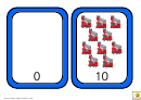 Fire Engine Number Chart - 0-10