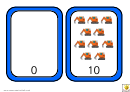Vehicle Number Chart - 0-10