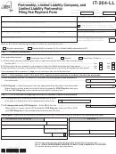 Form It-204-ll - Partnership, Limited Liability Company, And Limited Liability Partnership Filing Fee Payment Form - 2012