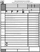 Form M-1040ez - Individual Income Tax Return - City Of Muskegon, Michigan - 2002