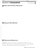 Section 4 Assessment Earth's Resources Geography Worksheet