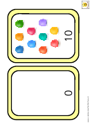 Eggs Number Chart - 0-10