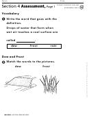 Section 4 Assessment Dew And Frost Geography Worksheet