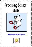 Kids Activity Sheet - Cutting Skills