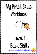 Kids Activity Sheet - Basic Pencil Skills