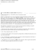 Foreign Nonstock Corporation - Withdrawal Application Instructions