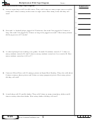 Multiplication With Tape Diagram - Multiplication Worksheet With Answers
