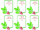 Holiday Treat Labels Holly Gift Labels Template