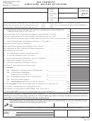 Form Fi-161 - Vermont Fiduciary Return Of Income - 2011