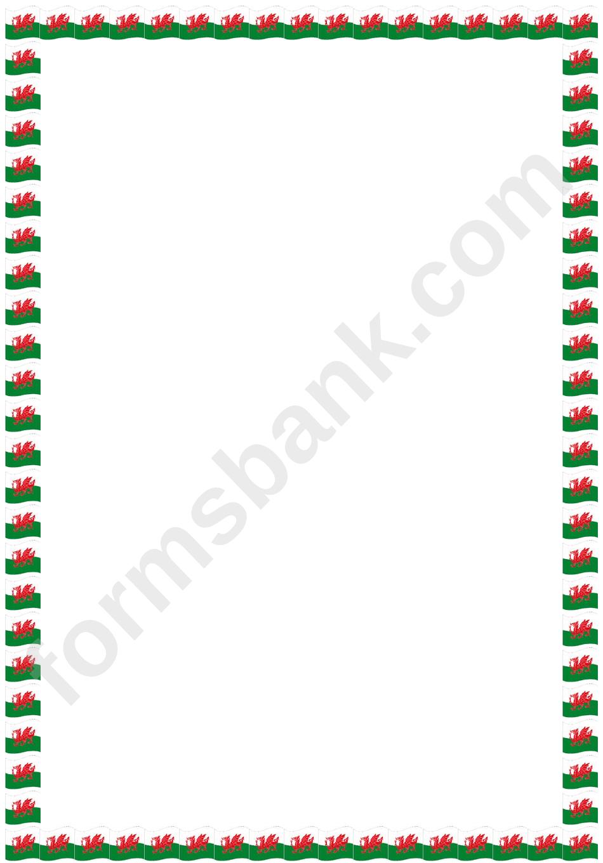Welsh Bordered Paper