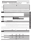 Form Pa-8453 - Pennsylvania Individual Income Tax Declaration For Electronic Filing - 2012