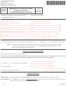 Form In-151 - Vermont Application For Extension Of Time To File Form In-111 Vt Individual Income Tax Return - 2012