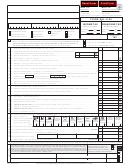 Form Mo-1120 - Missouri Corporation Income Tax Return For 2011/missouri Corporation Franchise Tax Return For 2012