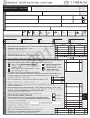 Form Mo-1040 - Individual Income Tax Return - Long Form - 2011