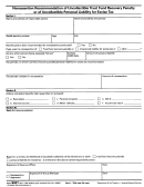 Form 9327 - Nonassertion Recommendation Of Uncollectible Trust Fund Recovery Penalty Or Of Uncollectible Personal Liability For Excise Tax