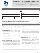 Ira/qualified Plan Distribution Request Form (sample)
