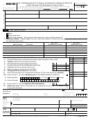 Form 1040-ss - U.s. Self-employment Tax Return (including The Additional Child Tax Credit For Bona Fide Residents Of Puerto Rico) - 2012