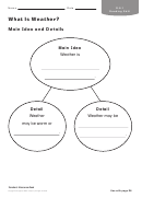 What Is Weather Geography Worksheet