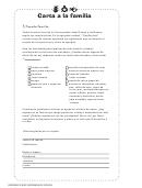 Carta A La Familia Teacher Letter To Parents Template