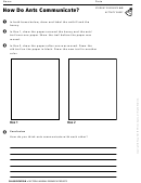 How Do Ants Communicate Activity Sheet