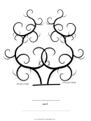 Bride And Groom Thumbprint Tree Template