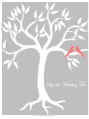 Sign The Wedding Tree