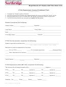 Ctva Supervision Course Enrollment Form