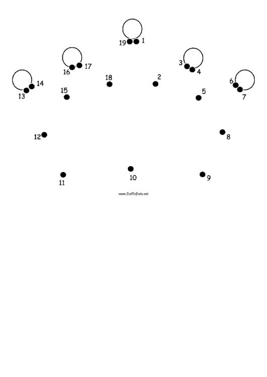 Crown Dot-to-dot Sheet