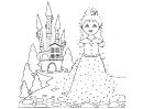 Princess Dot-to-dot Sheet