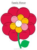 Family Flower Family Template