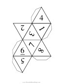 D8 Dice Chart