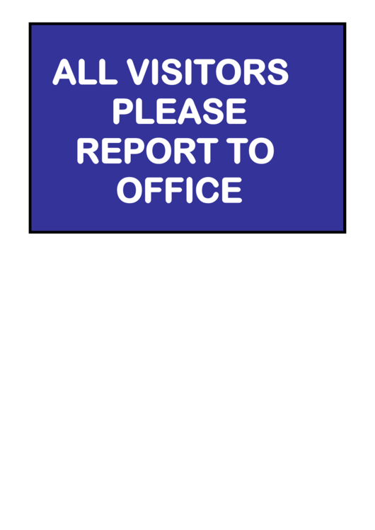all visitors must sign in template - 16 office sign templates free to download in pdf