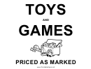 Toys And Games Sale