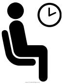 Waiting Room Sign Template