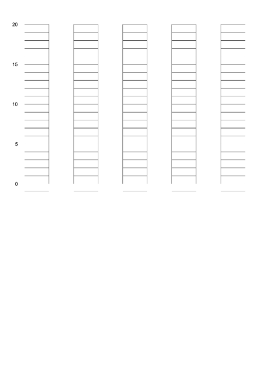 Bar Graph Template-20 Steps