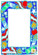 Firework Paper Template