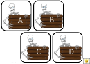 Skeleton Alphabet Template - Uppercase Letters