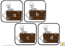 Skeleton Alphabet Template - Lowercase Letters