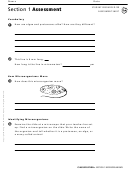 Section 1 Assessment Microorganisms Biology Worksheet