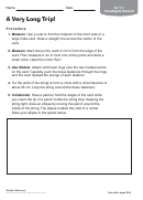 A Very Long Trip Astronomy Worksheet