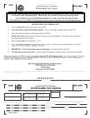 Form Wh-1601 - Withholding Tax Coupon