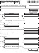 Form Ba-402 - Vermont Apportionment & Allocation Schedule