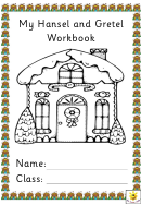 My Hansel And Gretel Workbook Kids Activity Sheet